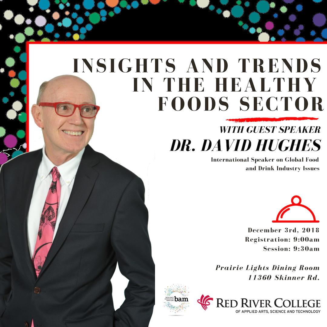Dr David Hughes At Red River College Bioscience Association Manitoba